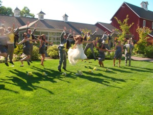 We are jumping for joy!
